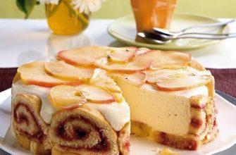 Яблочная Шарлотта — самый любимый пирог в семье