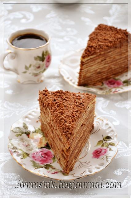 Не знаю, почему так называется этот торт,но он очень-очень вкусный и популярный в Армении.