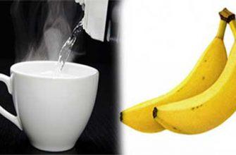 Начните свой день с банана и стакана теплой воды — вот почему!
