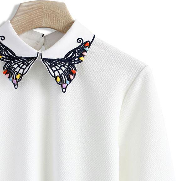 Надоела скучная однотонная рубашка?