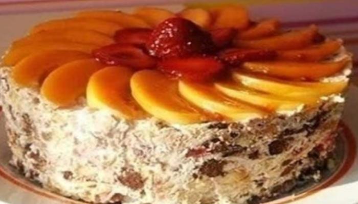 Торт «Творожный лентяй»