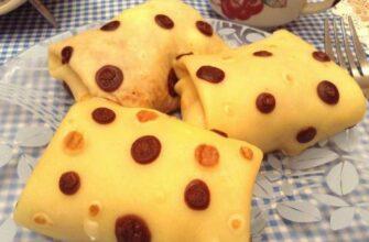 Аппетитные блинчики в горошек: просто и оригинально