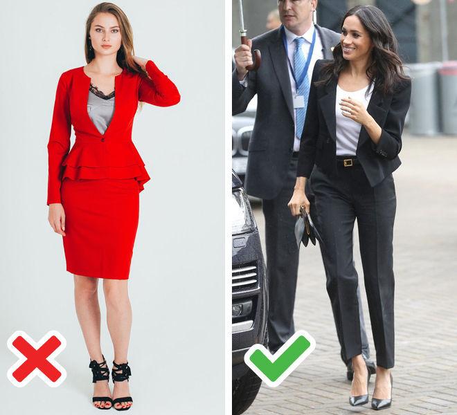 Деловой стиль: как европейки никогда не оденутся на работу