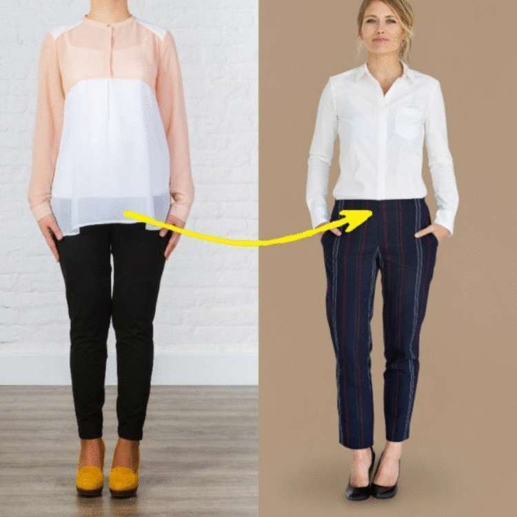 «Золотое» правило стилистов, по подбору одежды, чтобы она садилась идеально именно на вашу фигуру