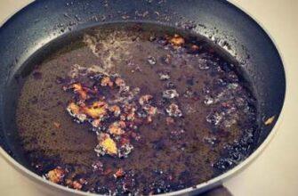 Как жарить мясо на сковородке так, чтобы она оставалась чистой.