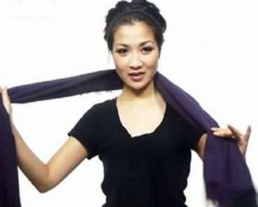 25 способов просто и со вкусом завязать шарф