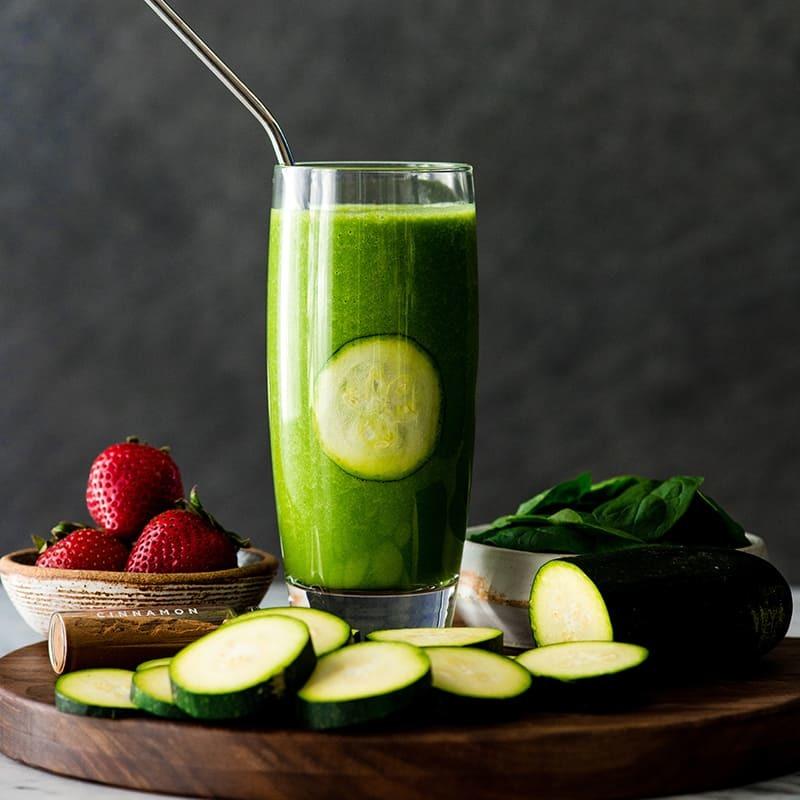 Смузи из цуккини для здоровья пищеварительного тракта